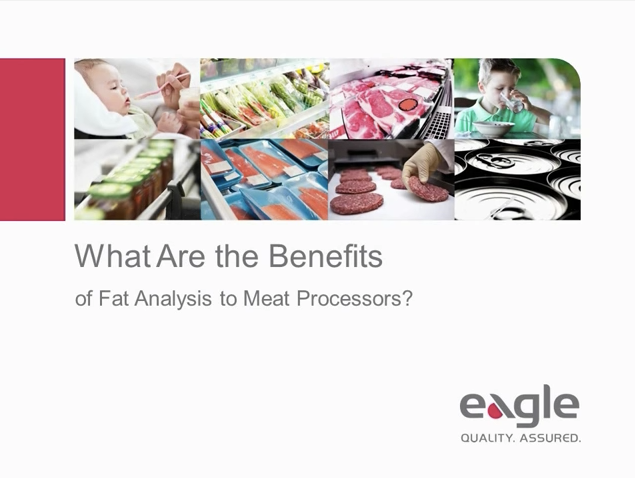 What Are the Benefits of Fat Analysis to Meat Processors?