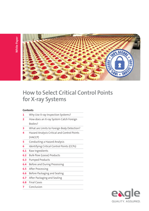 How to Select Critical Control Points Ebook