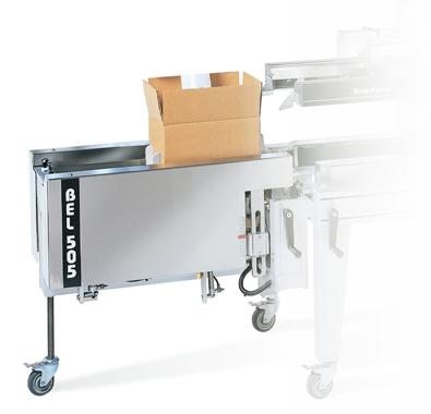 Semi Automatic Case Former Case Erector BEL505