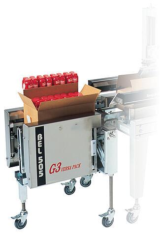 Semi Automatic Case Former Case Erector BEL505G3
