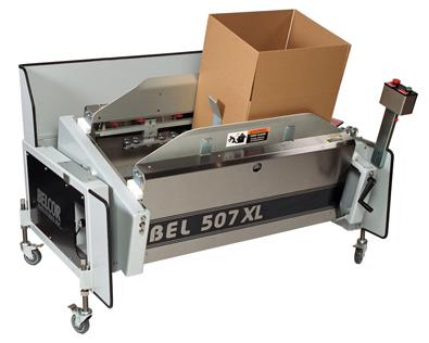 Semi Automatic Case Former Case Erector BEL507XL