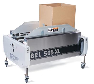 Semi Automatic Case Former Case Erector BEL505XL