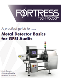 Metal Detector Basics for GFSI Audits | Whitepaper | Plan